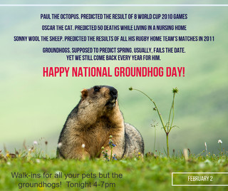 date groundhog day